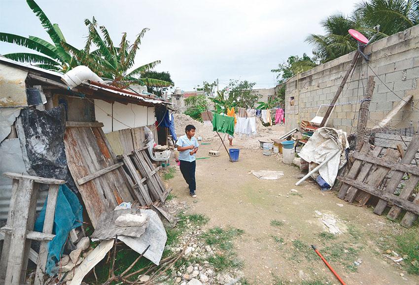 Muchos de los países en coflictos internos agravan sus dificultades relacionadas con la pobreza.