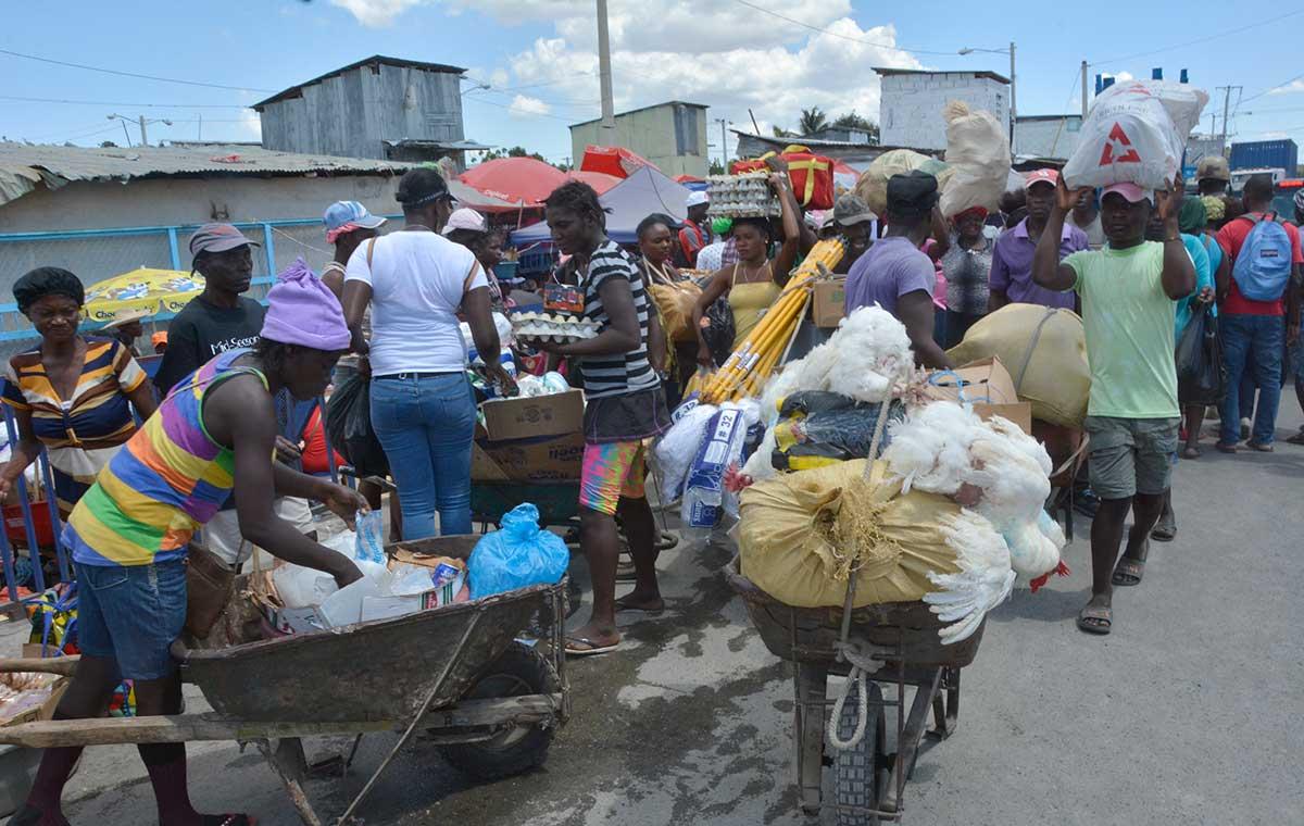 frontera haiti dominicana contrabando