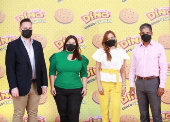 José Andrés Pichardo, Nicole Mejía, Paola Cardona y Krist Núñez.