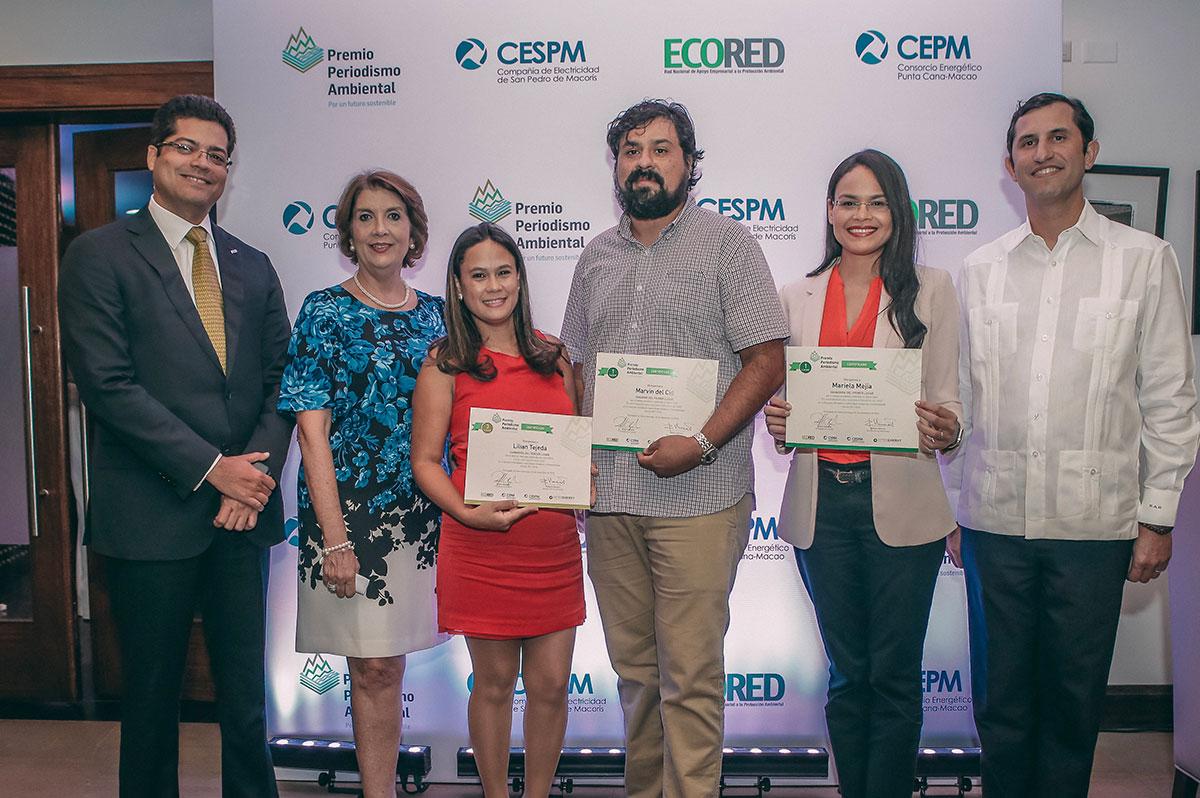 ganadores premio periodismo ambiental