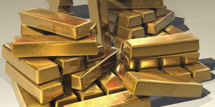 Lingotes de oro.   Steve Bidmead, Pixabay.
