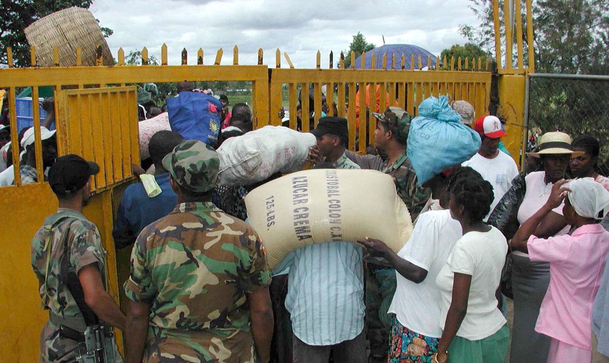 haiti veda frontera