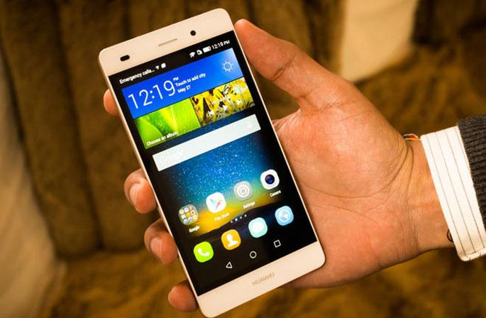 Huawei P8, uno de los últimos smartphones de la marca.