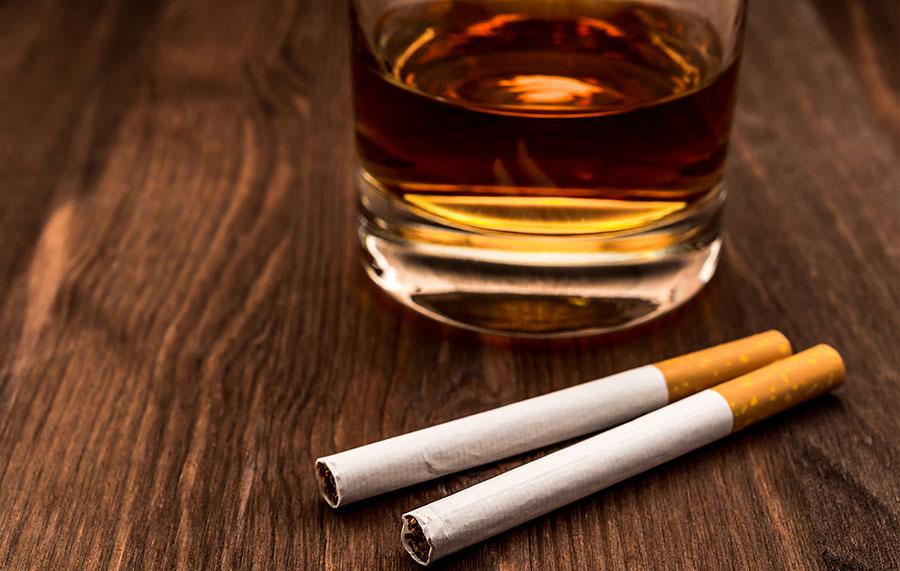impuestos alcohol y tabaco