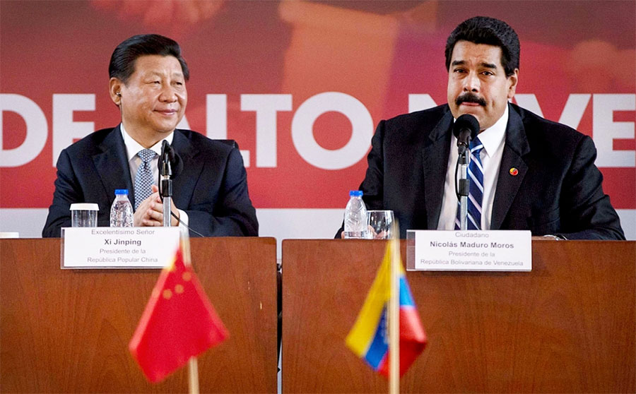 Xi Jinping y Nicolás Maduro han dicho que la alianza entre China y Venezuela es fuerte.