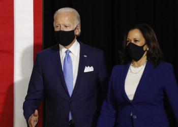 El presidente y vicepresidenta electos, Joe Biden y Kamala Harris. | Getty Images.