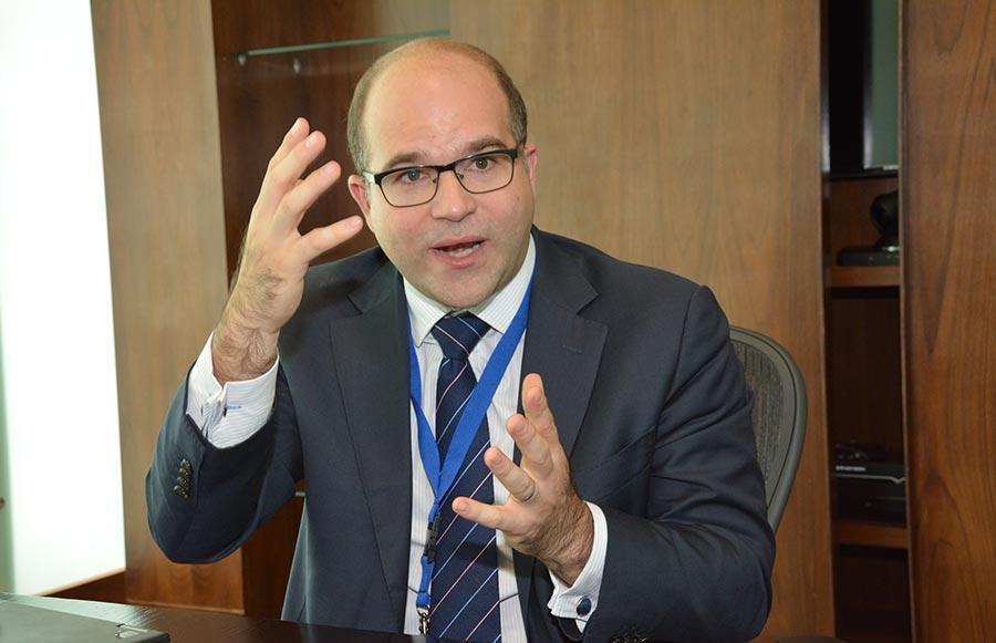 José Ricardo Feris es secretario del Grupo Latinoamericano de Arbitraje. | Gabriel Alcántara