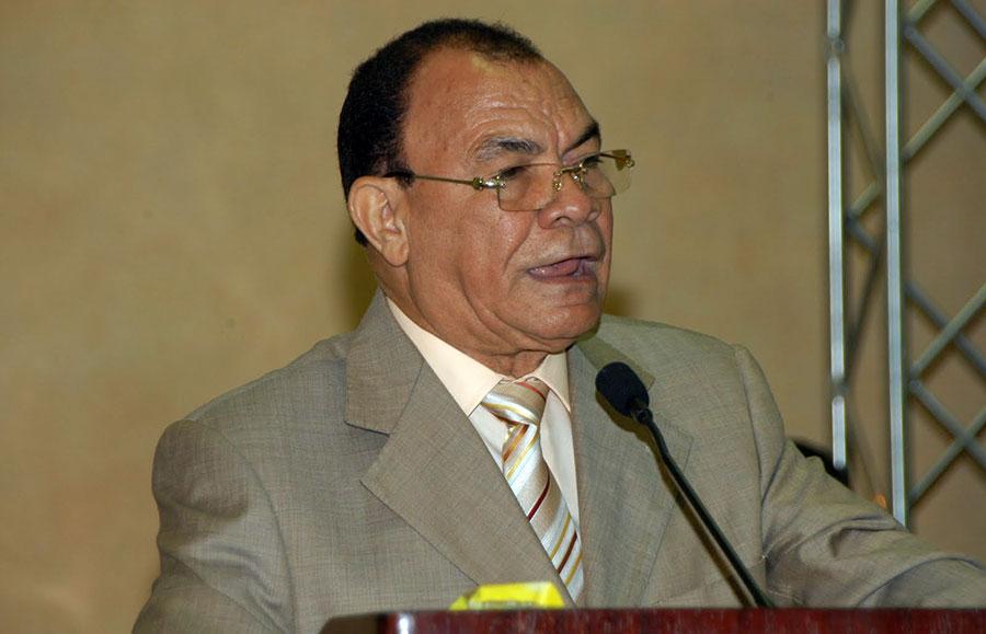 Julián Antonio Parra, presidente de la Asociación de Mayoristas de Provisiones de Santo Domingo (Amaprosado).