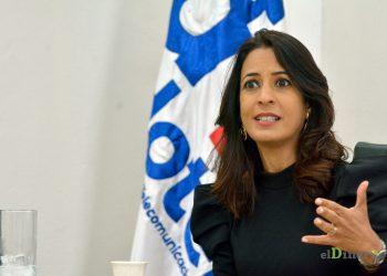 Julissa Cruz Abreu, directora ejecutiva del órgano rector de las telecomunicaciones.