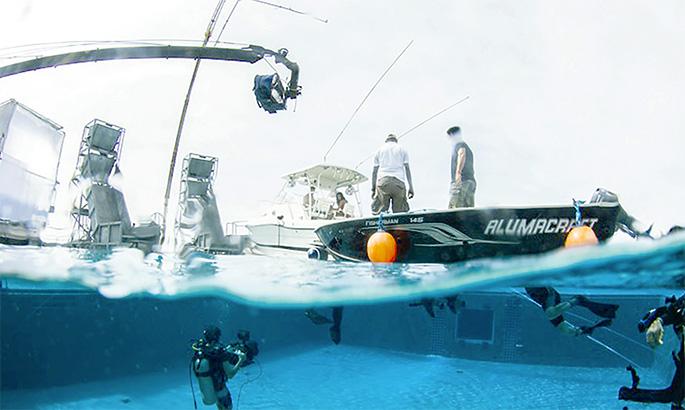 El Grupo Vicini realizó una cuantiosa inversión en un Water Tank en Pinewood Indomina Studios en la zona de Juan Dolio.