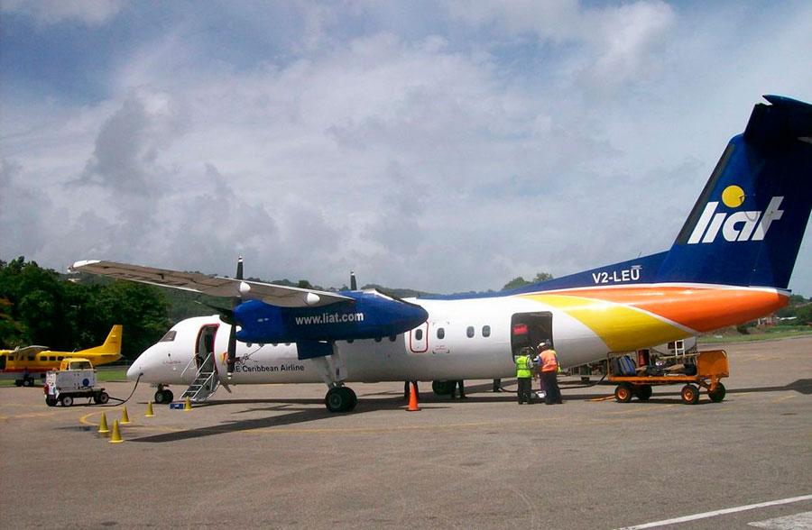 LIAT vuela a más de 21 destinos diariamente en todo el área del Caribe. | Fuente externa