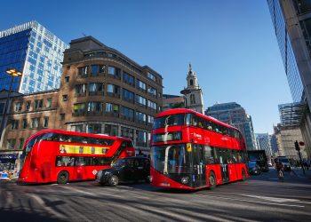 Autobuses Reino Unido, transporte.