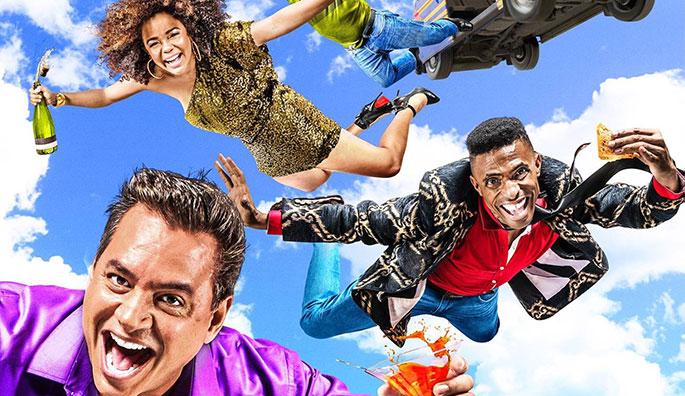 La película Los Paracaidistas se estrenó a principios de este año y ha vendido casi 200,000 taquillas.