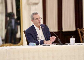 Luis Abinader, presidente de la República.