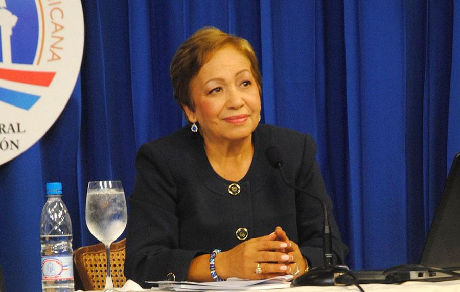 Luisa Fernández, directora ejecutiva del Consejo Nacional de Zonas Francas (CNZFE).
