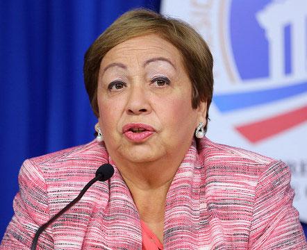 Luisa Fernández, directora del Consejo Nacional de Zonas Francas de Exportación (CNZFE).