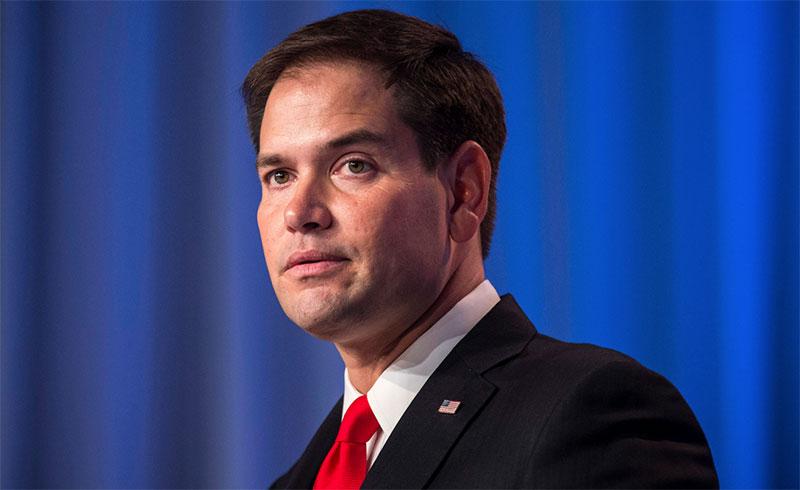 Marco Rubio, senador republicano por el Estado de Florida.