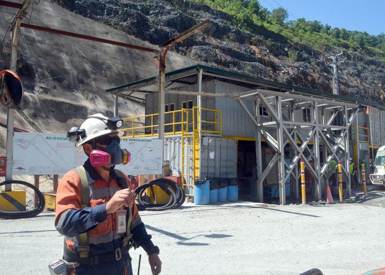 La actividad minera es la que paga mejores salarios en República Dominicana.