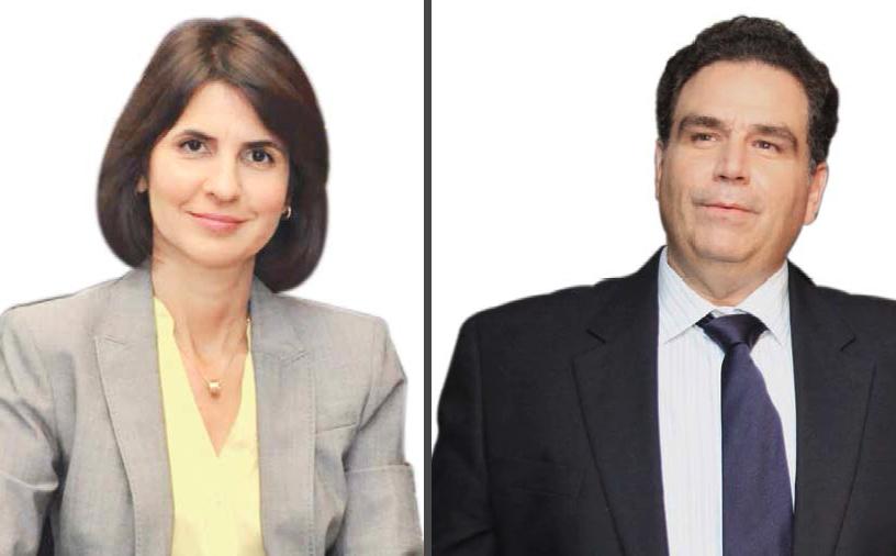 Mercedes Ramos Fernández, presidenta ejecutiva del Grupo Ramos, y José Miguel González Cuadra, presidente del Grupo CCN.