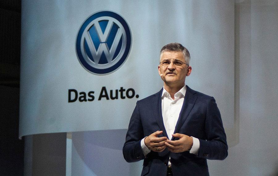 Michael Horn, presidente del Grupo Volkswagen en Estados Unidos.
