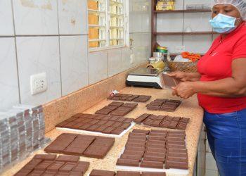 Las mujeres de Chojoba elaboran productos de alta calidad.