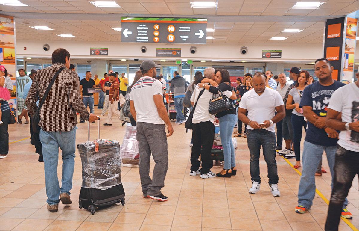 pasajeros aeropuertos