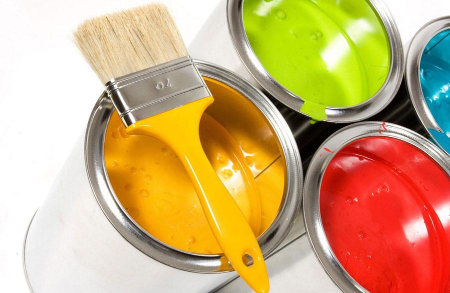 La producción y venta de pinturas es un componente importante en los indicadores de las cuentas nacionales.