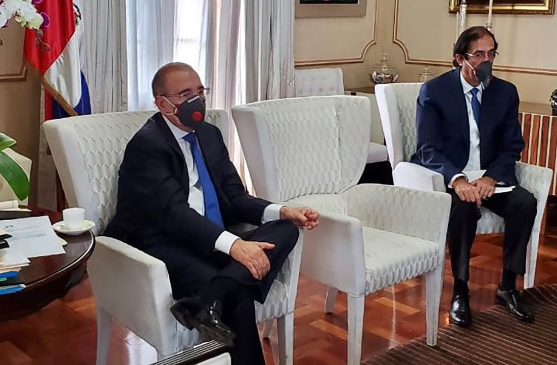 presidente danilo medina mascarilla