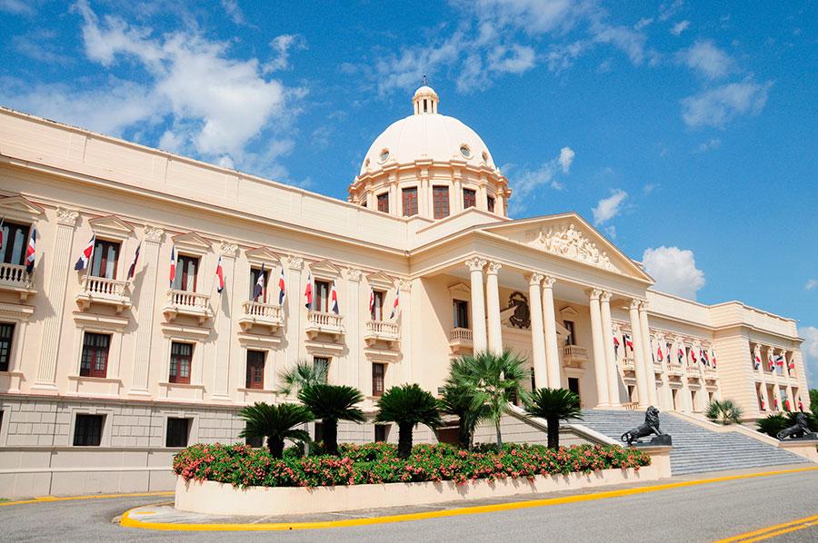 Palacio Nacional, sede del Gobierno central.