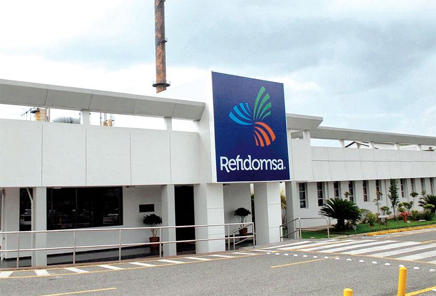 Las instalaciones de Refidomsa.