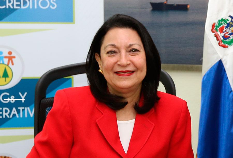 Rosa Rita Álvarez, directora ejecutiva de la Fundación Reservas del País.
