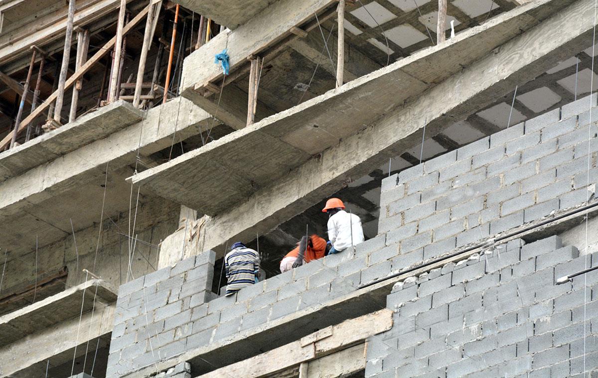 sector construccion pib