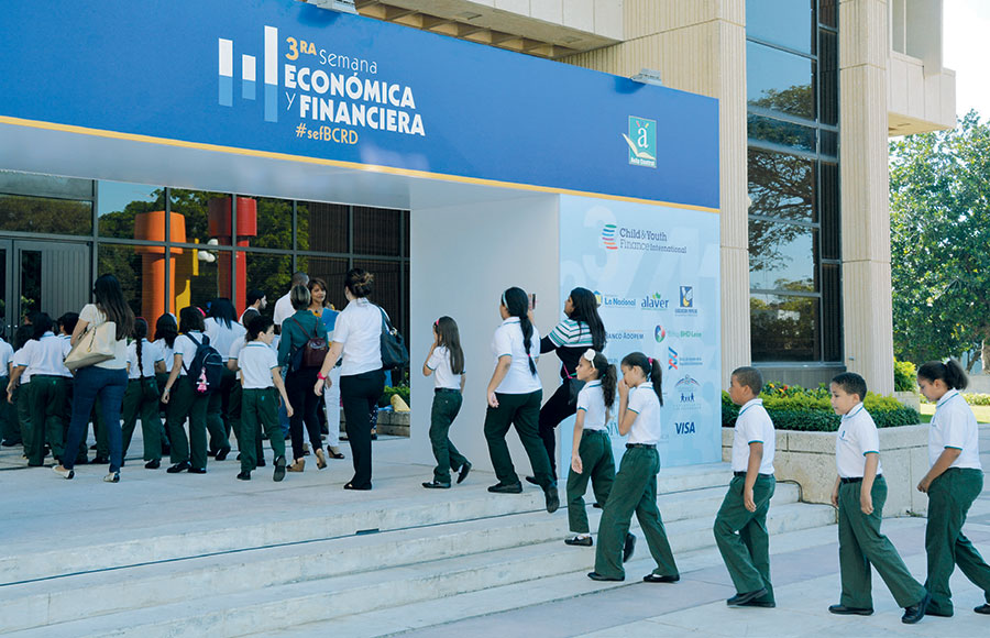 La Semana Económica y Financiera atrajo a miles de estudiantes.