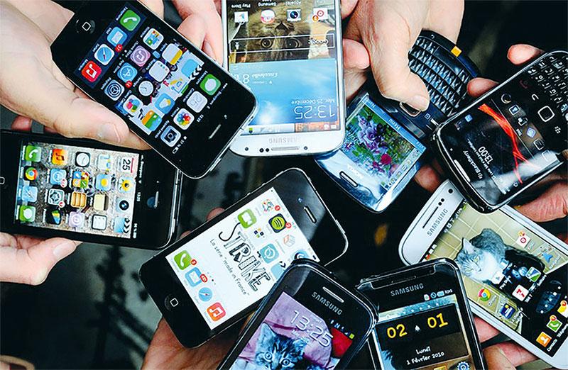 Las ventas de los smartphones han aumentado en esta década. / Fuente externa