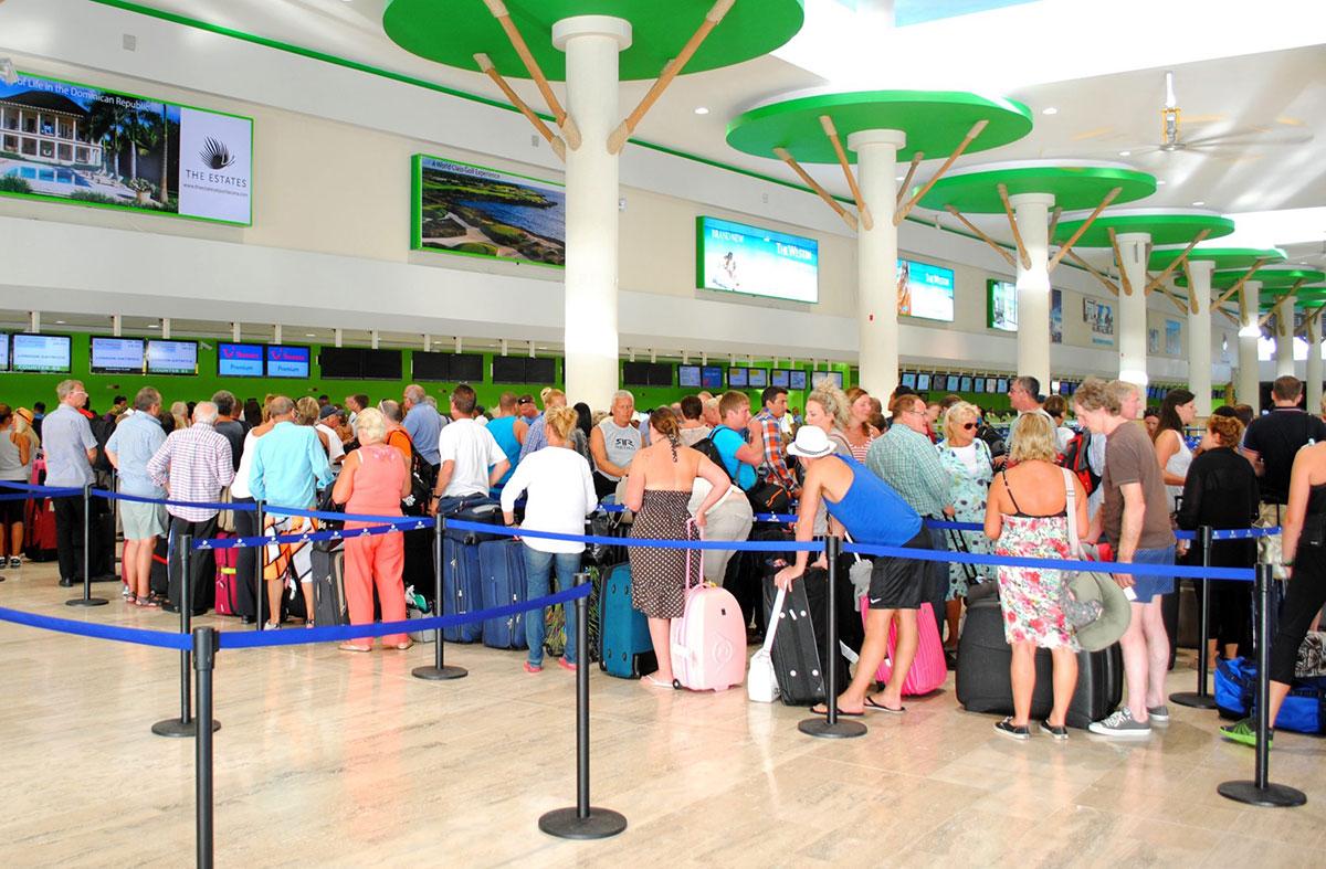 tarjeta de turista aeropuerto