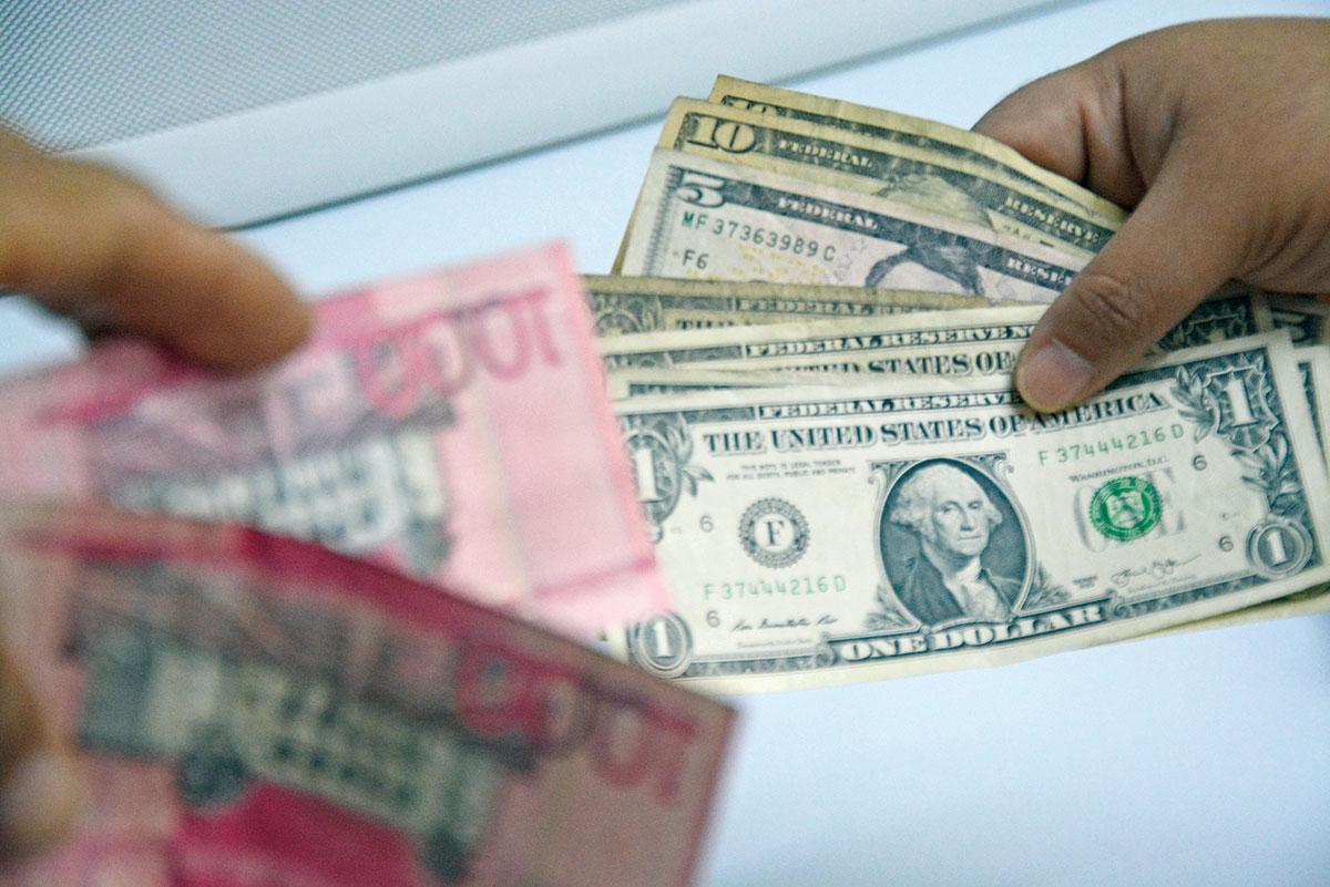 tasa de cambio dolar anclada