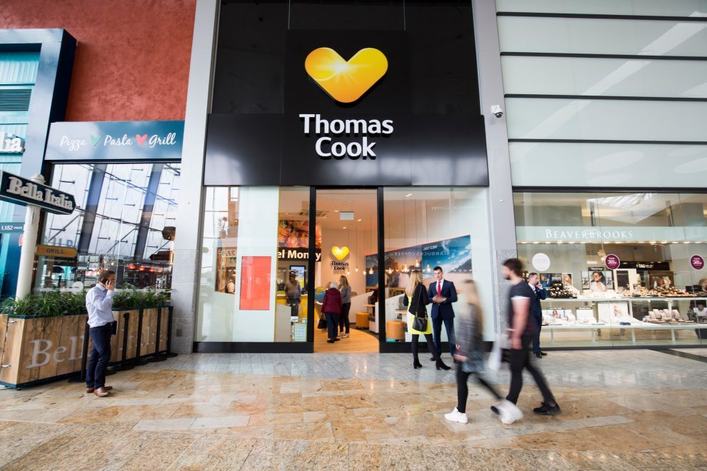 official opening of thomas cook glasgow silverburn