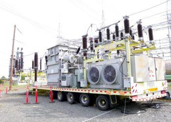 Transformador eléctrico.