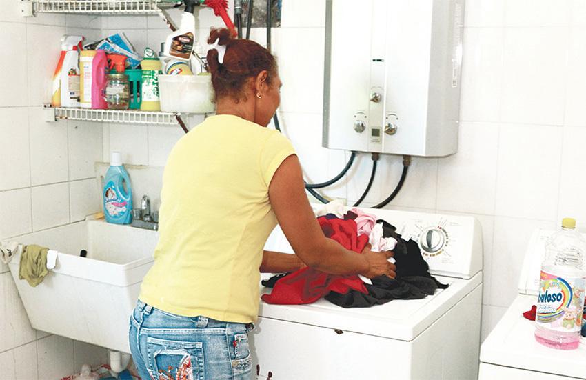 trabajadora domestica