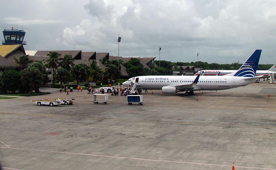 Punta Cana es el aeropuerto de mayor tráfico de pasajeros no residentes en el país.