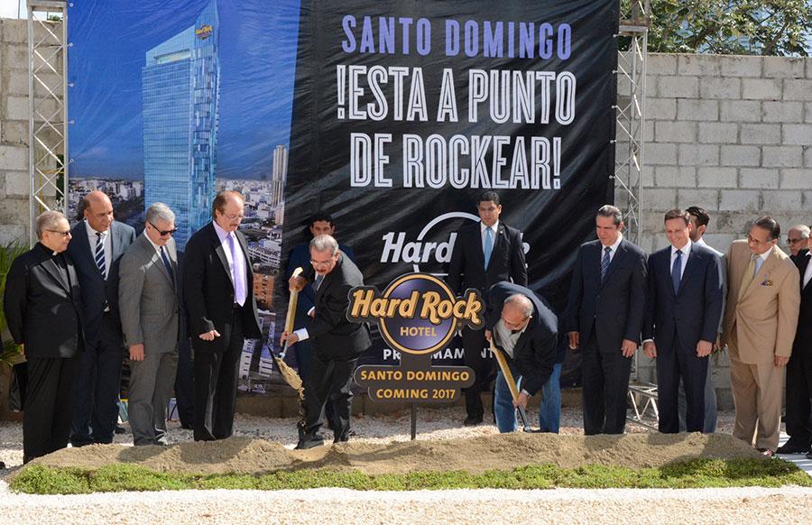 Hard Rock construirá un nuevo hotel en Santo Domingo.
