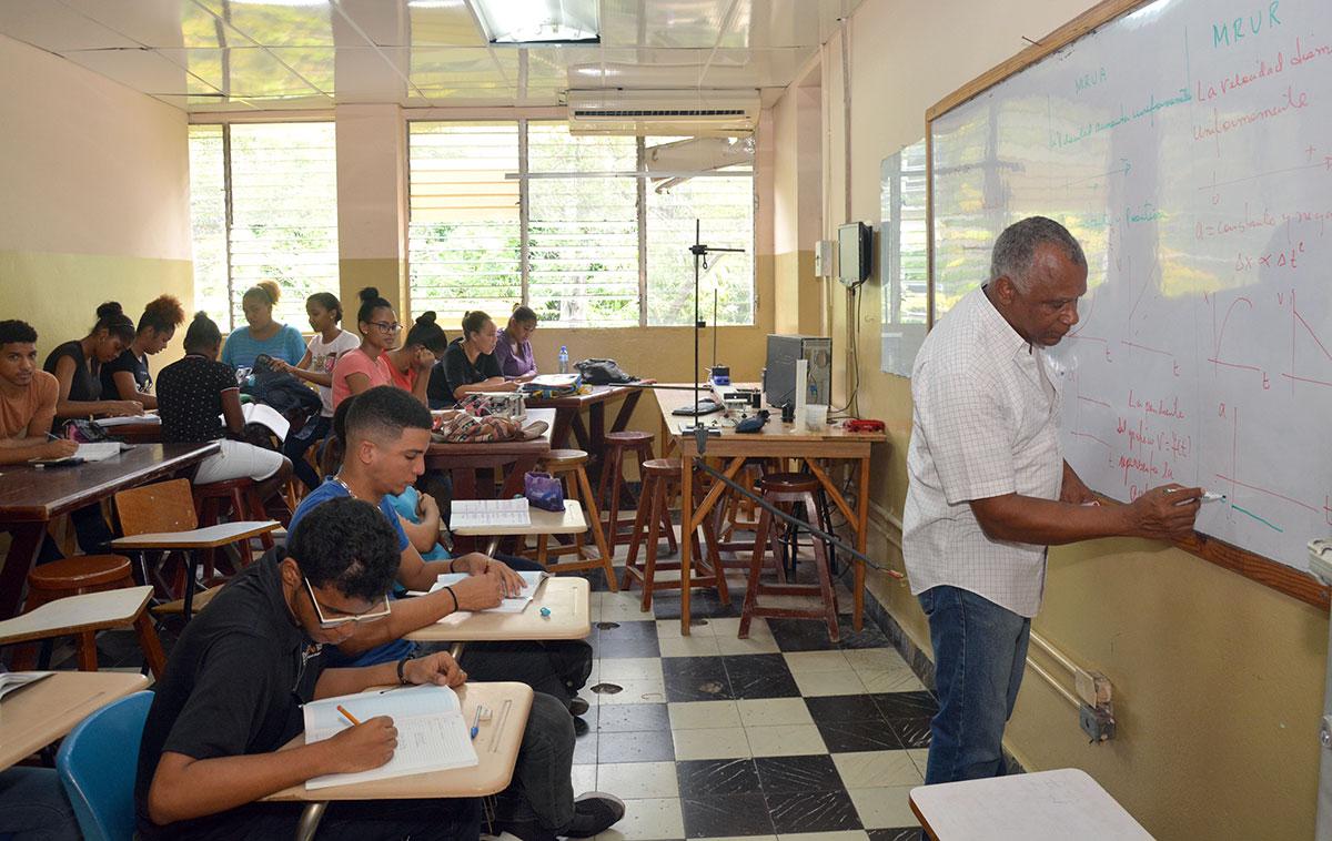 universidades dominicanas uasd aula