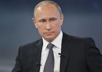 El presidente de Rusia, Vladímir Putin.